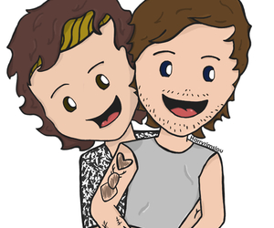 fanart, larry, and stylinson image