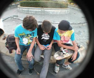 boys and skate board image