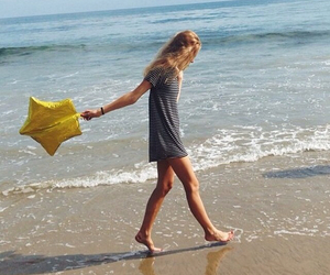 beach, inspiration, and walk image