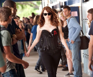 emma stone and easy a image