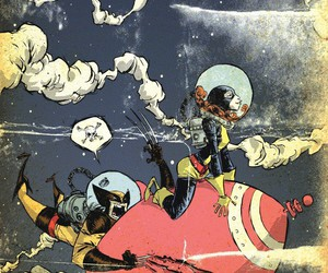 Marvel, wolverine, and skottie young image