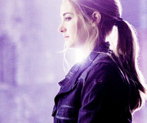 divergent, tris prior, and Shailene Woodley image