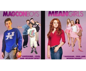 mean girls and magconboys image