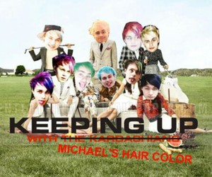 5sos, funny, and michael clifford image