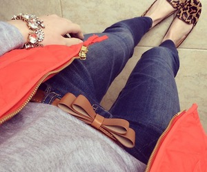 accessories, jeans, and fashion image