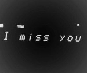 header and i miss you image