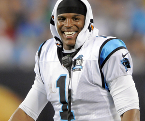 panthers, cam newton, and carolina panthers image