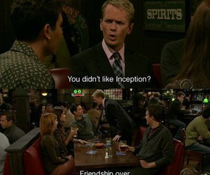 how i met your mother, inception, and himym image
