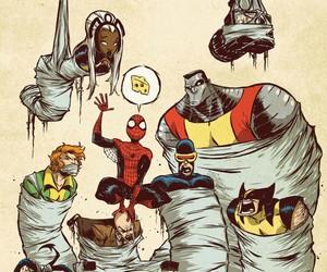 Marvel, spiderman, and x-men image