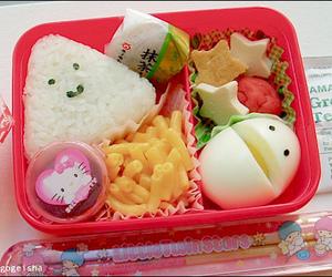 food, bento, and kawaii image