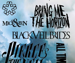 all time low, bring me the horizon, and of mice and men image