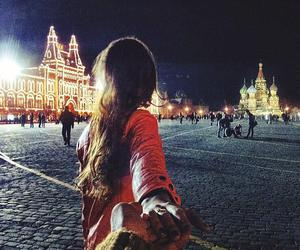 moscow and couple image