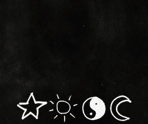 stars, moon, and sun image