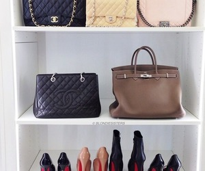 chanel, christian louboutin, and hermes image