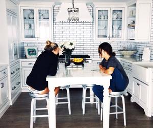 bff, friendship, and kitchen image