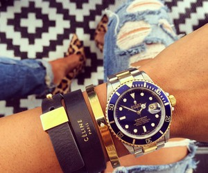 fashion, watch, and celine image