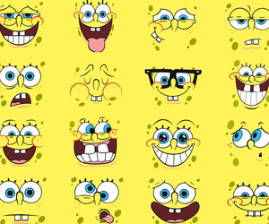 spongebob, yellow, and bob image