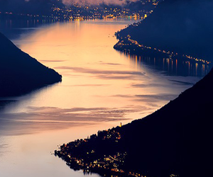 beautiful, lights, and river image