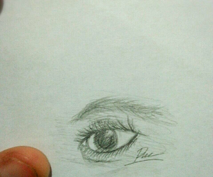 eyedrawing and scarlettadiart image