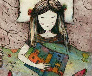 book, Dream, and girl image