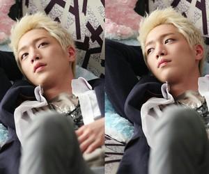 seo kang joon, actor, and blonde image
