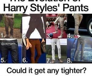 Harry Styles, one direction, and pants image