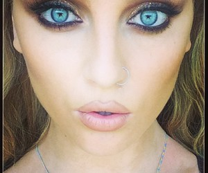 perrie edwards, little mix, and blue eyes image