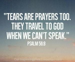 tears and god image