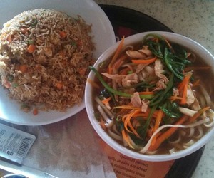 food, hungy, and spicy rice image