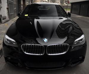 black, bmw, and dark image
