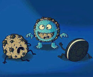 Cookies, monster, and oreo image