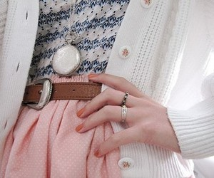 fashion, necklace, and nails image