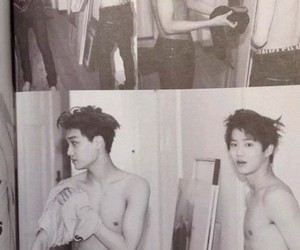 exo, suho, and shirtless image
