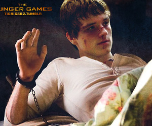 mockingjay, the hunger games, and peeta mellark image