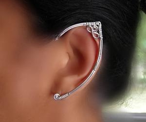 ear, elf, and earring image