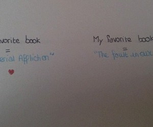 hazel, an imperial affliction, and the fault in our stars image