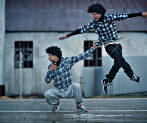 dance, les twins, and twins image