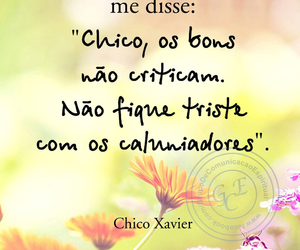 quote and chico xavier image