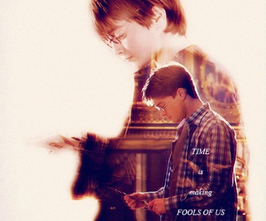 Adult, child, and harry potter image
