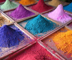 colors, blue, and color image