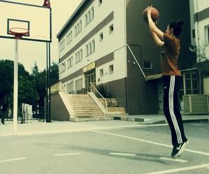 ball, Basketball, and game image