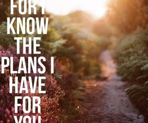plan, quote, and god image