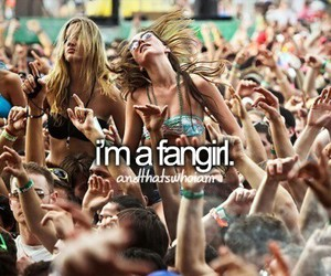 fangirl and me image
