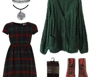 dress, outfit, and ootd image