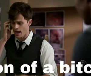 criminal minds, funny, and matthew gray gubler image