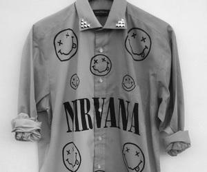 nirvana, shirt, and grunge image