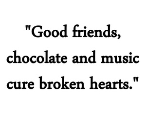 chocolate, girl, and friends image