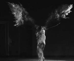 angel, b&w, and paliwoda image