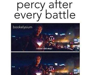percy jackson, book, and percy image