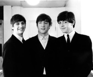 the beatles, john lennon, and ringo starr image